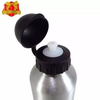 10 squeeze sublimação garrafa aluminio prata 500ml promoção