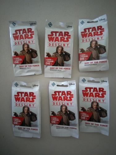 10 star wars destiny tcg booster packs