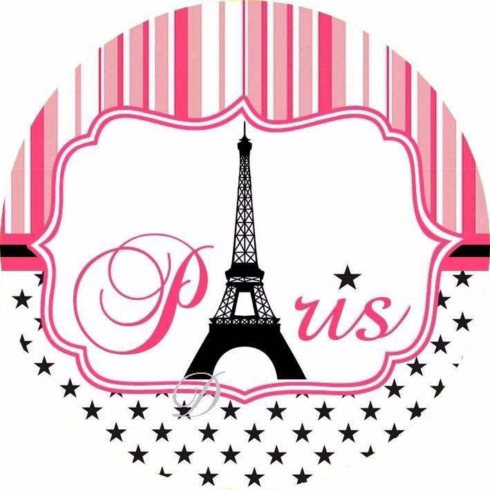 Paris Cake Topper