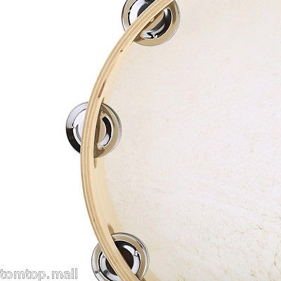 10  tambor de tamborine pandero musical jingles partido...