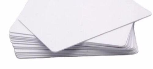 10 tarjetas blanca pvc 13.56 mhz envio gratis