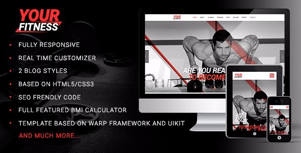 10 templates wordpress para academias e personal trainer r 20 00