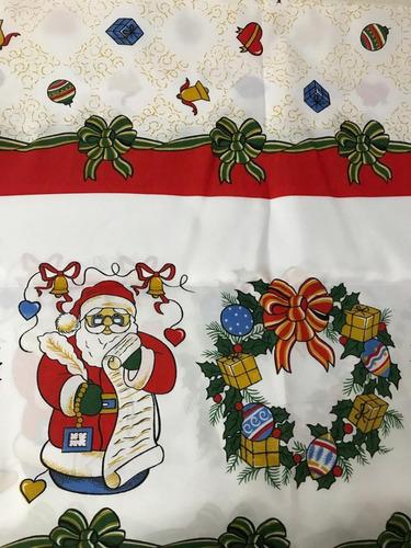 10 toalhas de mesa natalinas  6 cadeiras