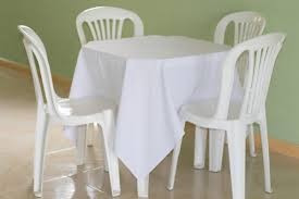 10 toalhas de mesa quadrada  em oxford p festa buffet