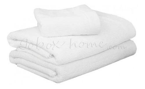 10 toallas de algodon baño hotelera 580gr uso rudo 145x80cm