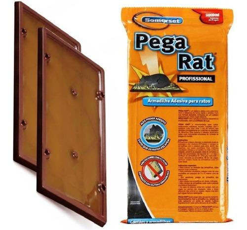 10 trampa adhesiva grande pegamento mata rata raton laucha