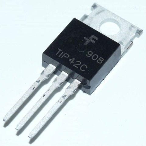 10 transistors tip42c  tip 42c- fairchild original