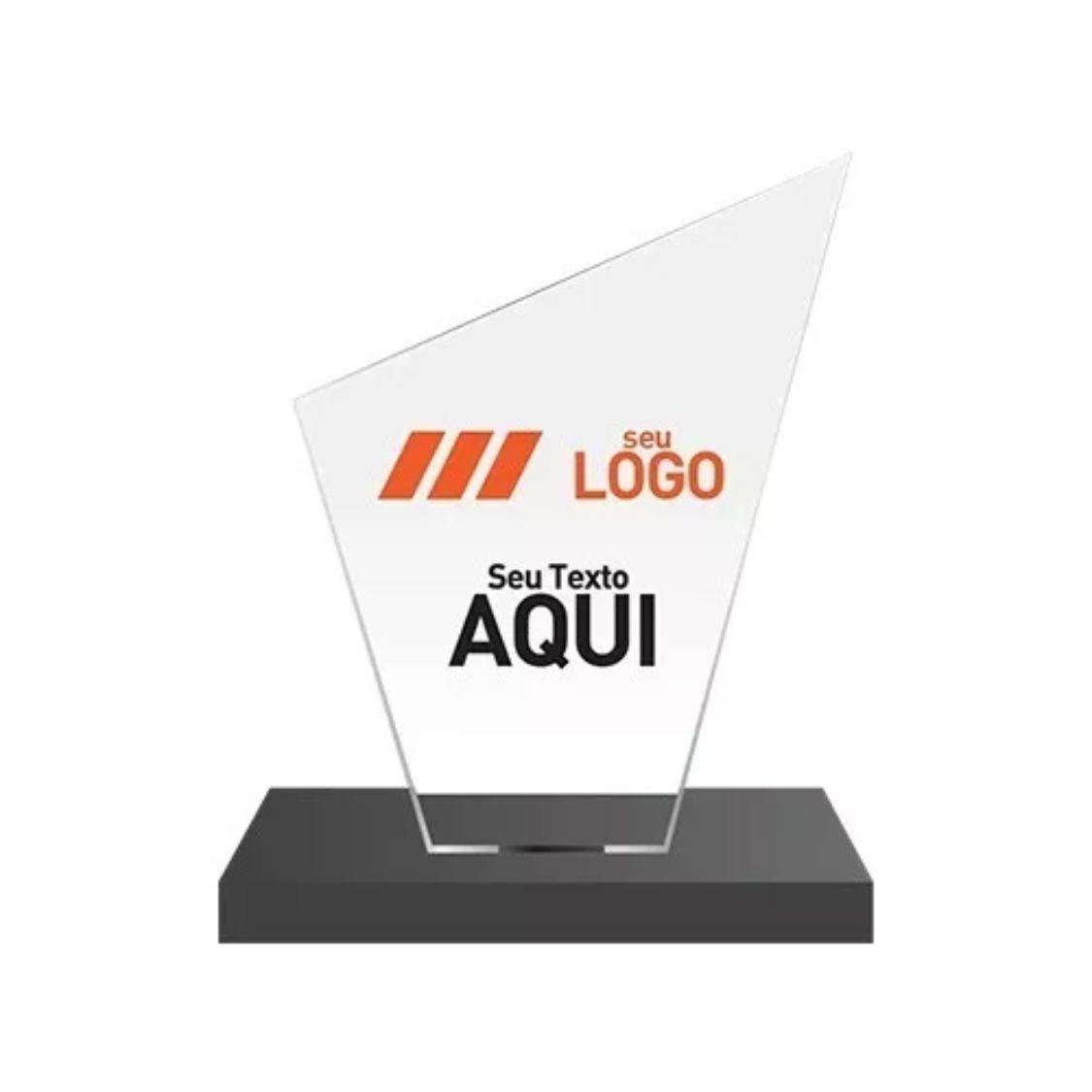 10 Troféus Personalizados Em Acrílico + 30 Medalhas 5 Cm - R  160 9378fac6067f8