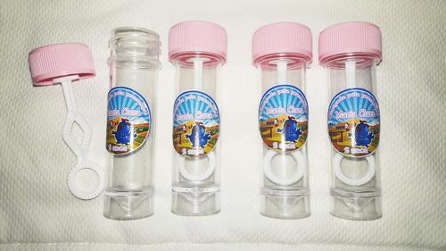 10 tubetes bolha de sabão personalizados