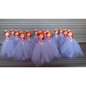10 Tubetes Personalizados - Princesa Sofia