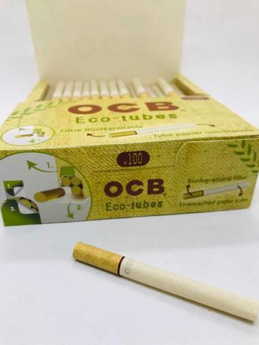 10 tubos ocb eco x 100 para maquina de relleno -local once