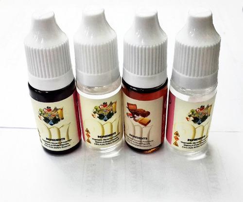 10 unid. essência liquida narguile caneta eletrônico sabores