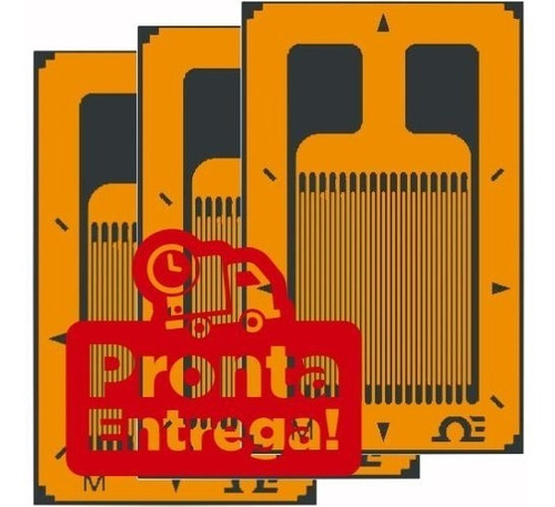 10 unid strain gauge bf350 bf350-3aa bf 350 precisão arduíno