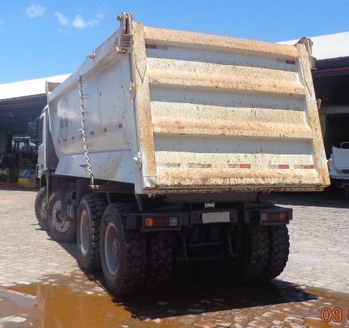 10 unidades actros 4844 k ano 2012/2012 caçamba rossetti