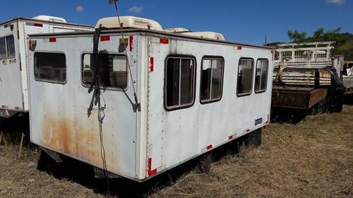 10 unidades cabines suplementar para 16 passageiros