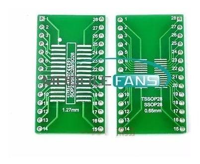 10 unidades de - sop28 ssop28 tssop28 para dip28