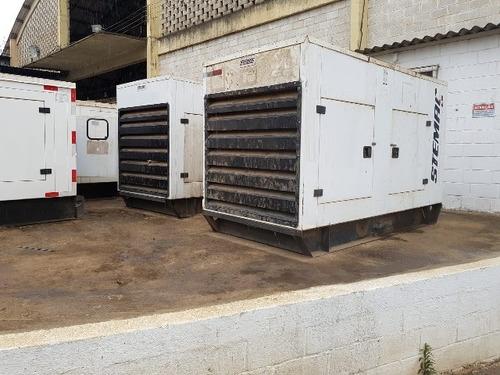 10 unidades grupo gerador stemac 115 kva gta / 150 kva gta