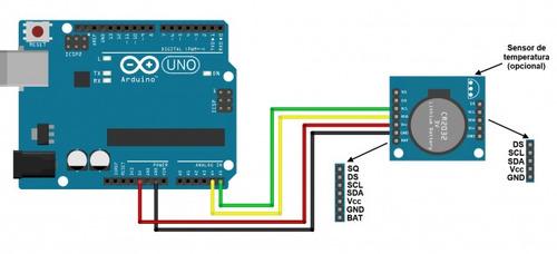 10 unidades relogio tempo real rtc ds1307 esp8266 arduino