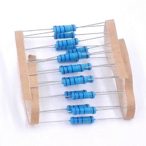 10 unidades resistor 1,5 ohm 2w ideal para power led 10w 12v
