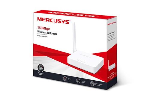 10 unidades roteador wireless mw155r v1.0 150mbps mercusys