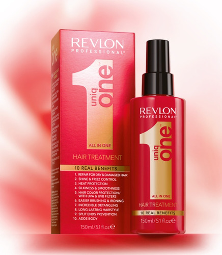 10 unidades uniq one revlon hair treatment 10 em 1 - 150ml