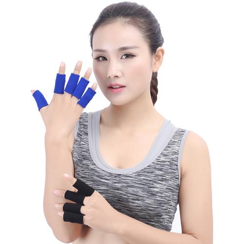 10 unids deportes dedo wrap hombres mujeres pulgar protector