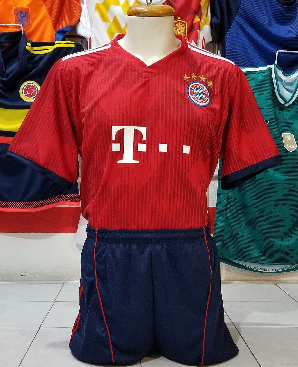 4df3131676ff8 10 uniformes de futbol bayern munich local 2019 dri-fit. Cargando zoom.