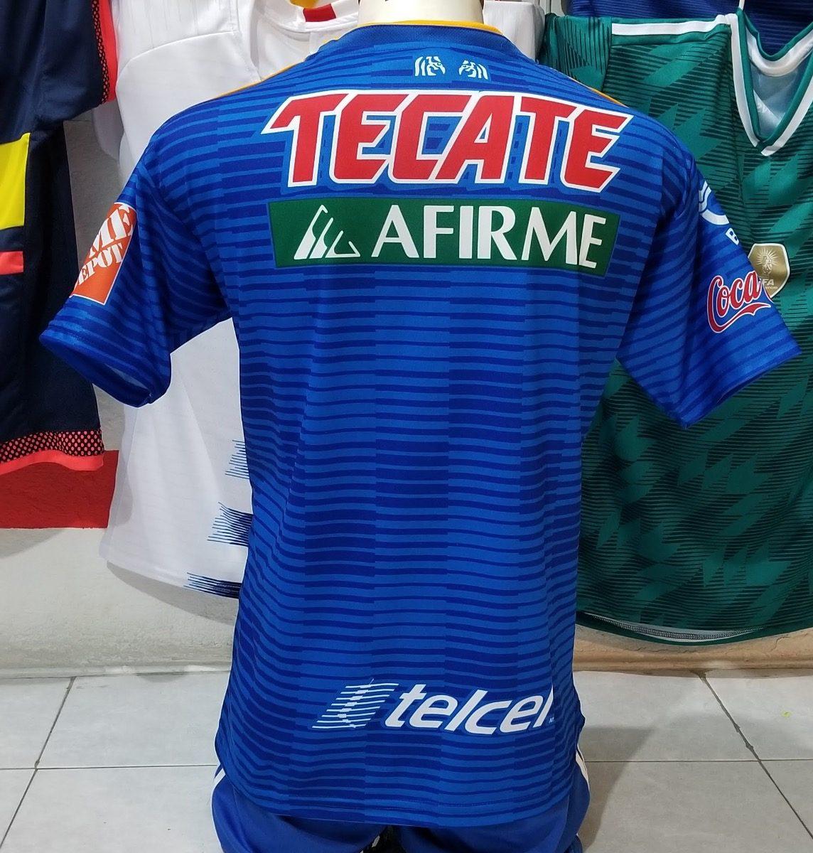 2c9fd3d4ab695 10 Uniformes De Futbol Calidad Dri-fit Tigres Visitante 2019 ...