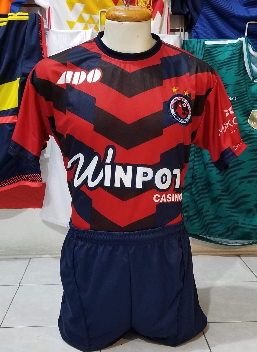 10 Uniformes De Futbol Calidad Dri-fit Veracruz Local 2019 ... 7db22d28e4e73