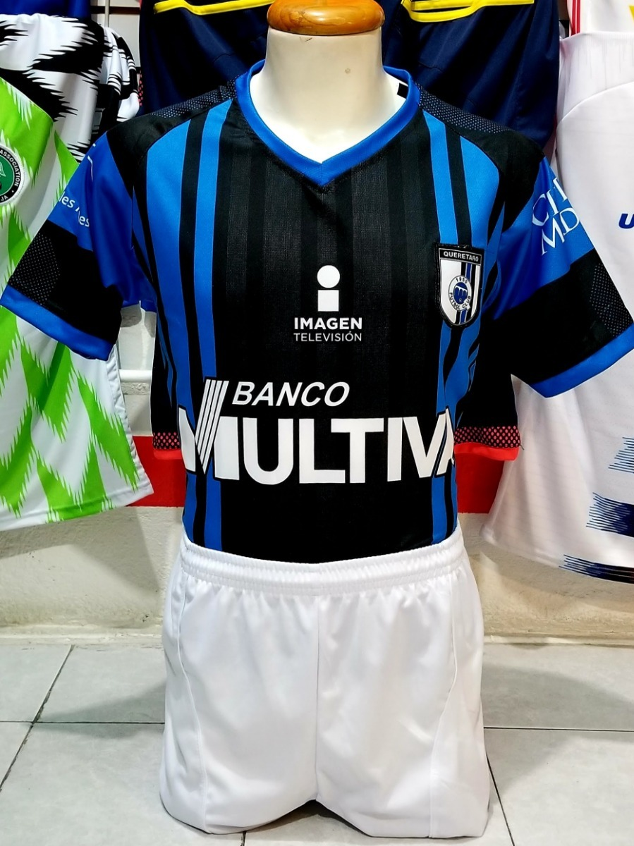 10 Uniformes De Futbol Queretaro Local 2019 Dri-fit -   3 6f34627aa3142
