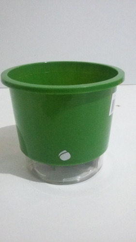 10 vaso auto irrigável n01 10,5 cm x 9,5 cm