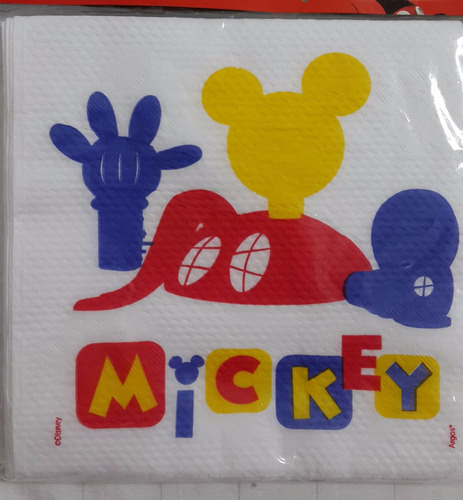 10 vasos mickey