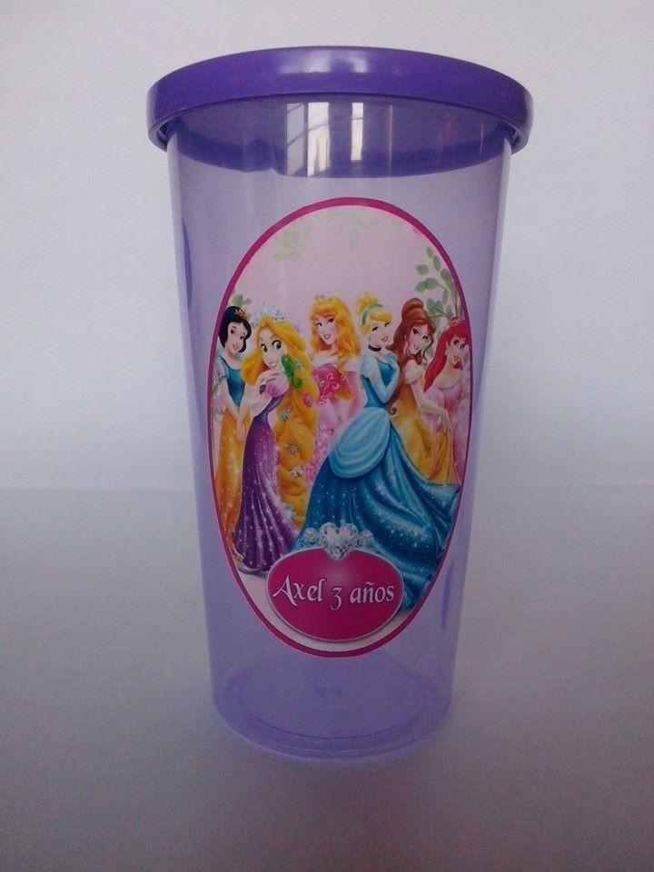 10 vasos personalizados tapa plana o tapa chupete en mercado libre - Vasos personalizados ...