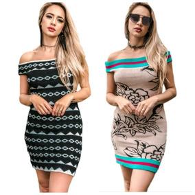 b0ca58075 Kit Vestido Tricot Revenda - Vestidos Femeninos Casual com o ...