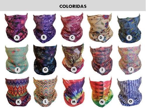 10 x bandana cuello tubular 100 diseño elección envío gratis