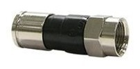10 x conector de pressão para cabo rg6 !!! - campinas