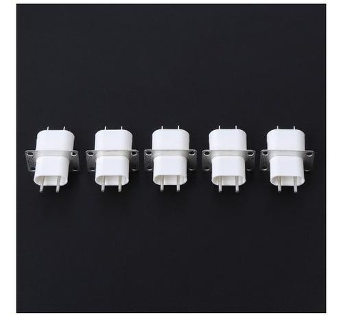 10 x conector p/ magnetron ( filamento ) novo c/garantia