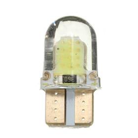 10 X Lampara Led Posicion Mini Silicona Gel Interior T10