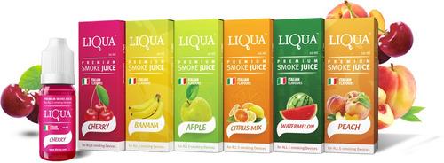 10 x liquido esencia cigarro electronico liqua sabores