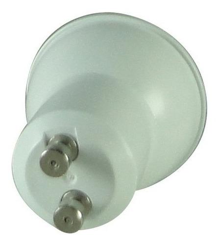 10 x lâmpada power led mini dicróica mr11 gu10 3w