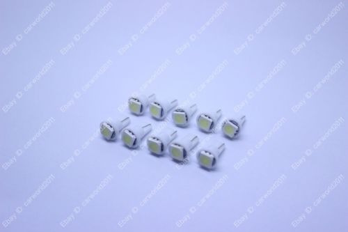 10 x t5 blanco 73 74 79 instrumento calibre dash tablero led