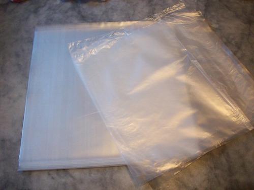 100+100 capas plástico ext.0,15+ interno lp disco vinil capa