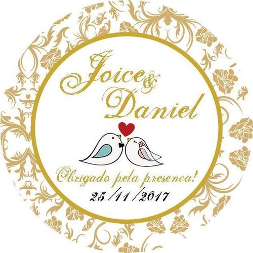 100 adesivos personalizados lembrancinhas casamento 2 artes