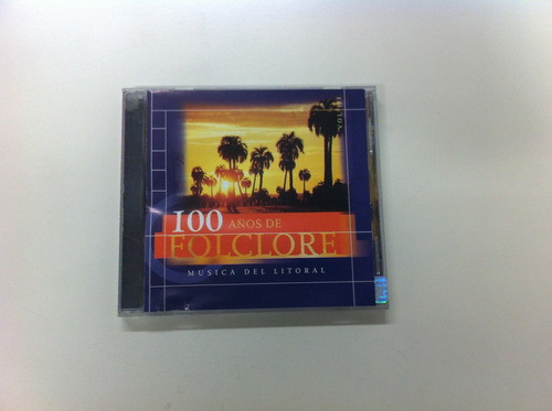 100 años de folclore cd chamame tarrago ros cocomarola