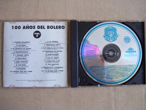 100 años del bolero volumen 5 cd música  10 éxitos originale