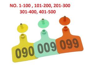 Para ToroVacaGanadoEtcEnumerados 100 Aretes Láser 100 8wNnOXPk0Z