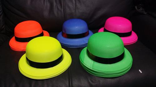 100 articulos fiesta retro collar sombrero lentes corbata