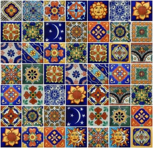 100 azulejos pintados a mano!  outlet de fabrica