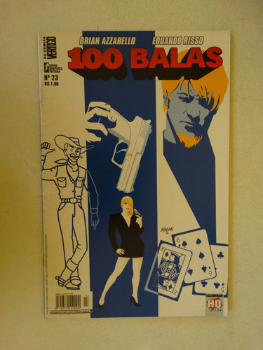 100 balas nº 23! opera graphica outubro 2003!