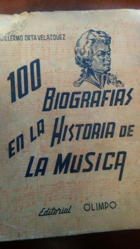 100 biografías en la historia de la música 1963